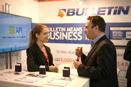 Exhibition Stand Hostesses at Mobile World Congress