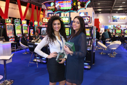 Exhibition Girls at ICE Gaming ExCel London