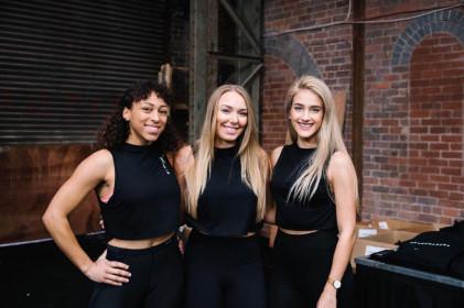Promo girls Gymshark Birmingham-min