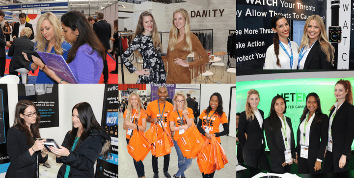Exhibition Stand Staff : Exhibition staff hire across the uk and worldwide