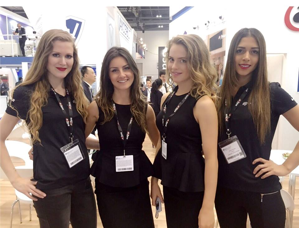 Exhibition Girls at the Facilities Show