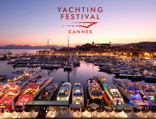 Exhibition Girls at the Cannes Yachting Festival 2016