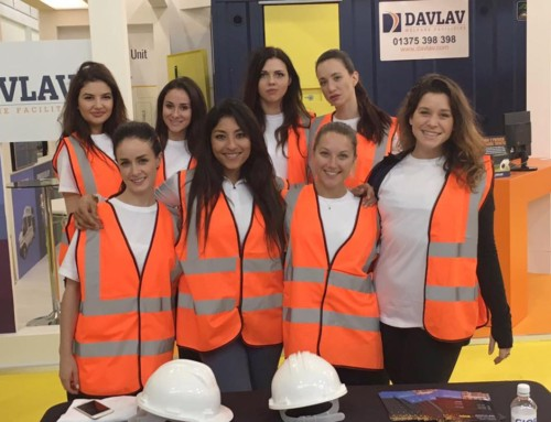 Exhibition Girls London at London Build Expo 2016 Olympia