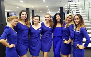 Exhibition Girls Staffing Agency at IBC Amsterdam-min