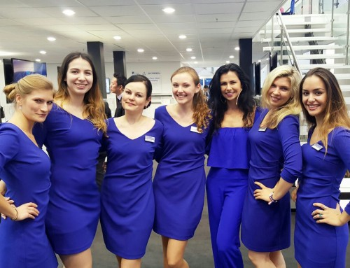 Exhibition Girls Staffing Agency at IBC Amsterdam 2017