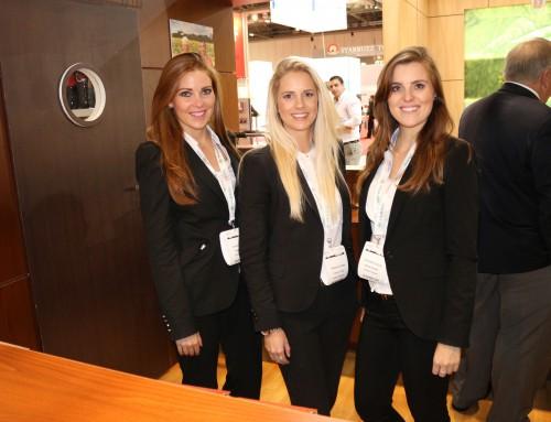 Exhibition Girls Staffing Agency at Finance Magnates Summit 2017