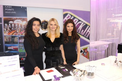 promotion girls at ExCel London