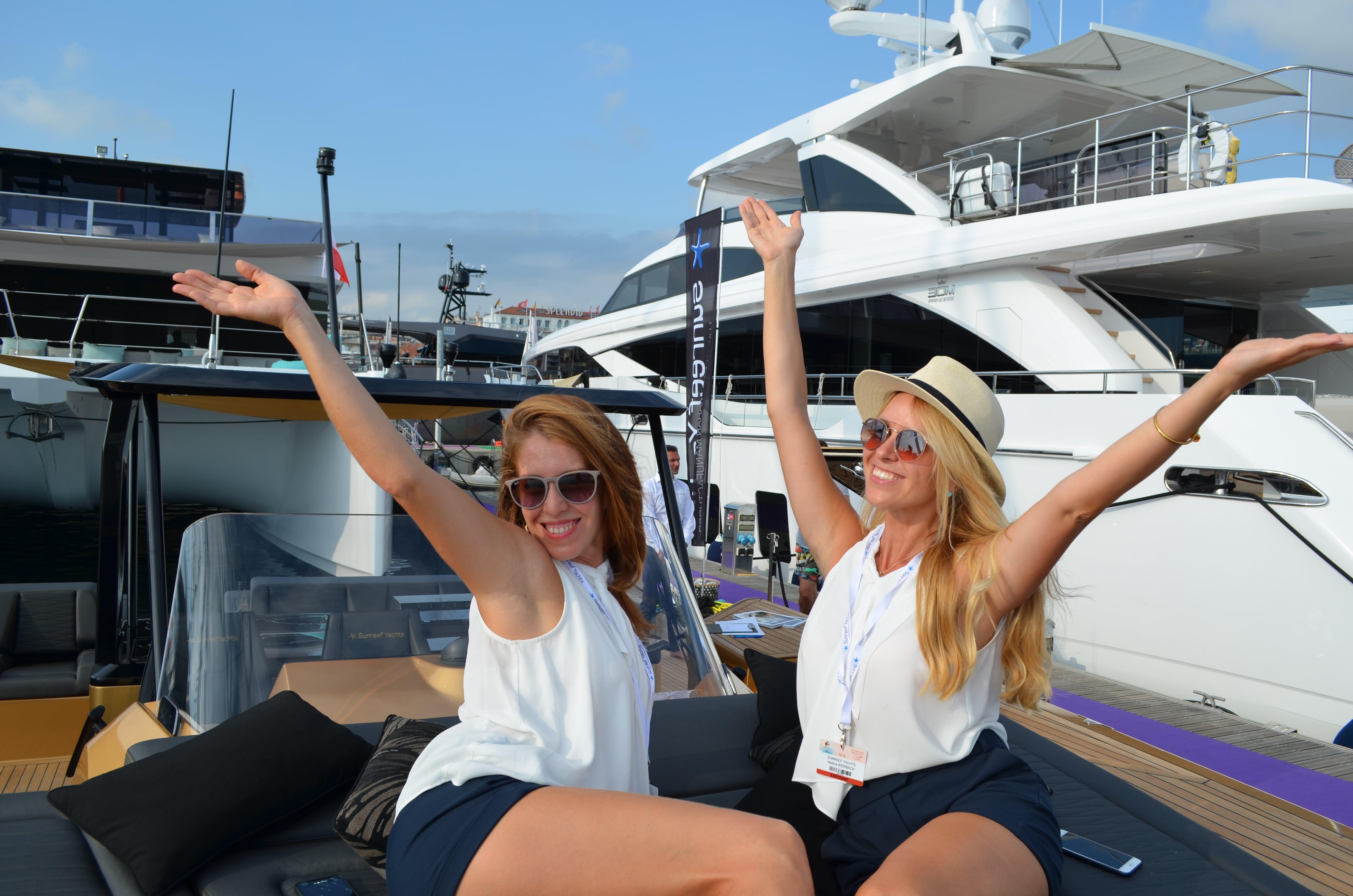 Exhibition Girls Cannes Yacht  U0026 Vip Reception Hostess Agency