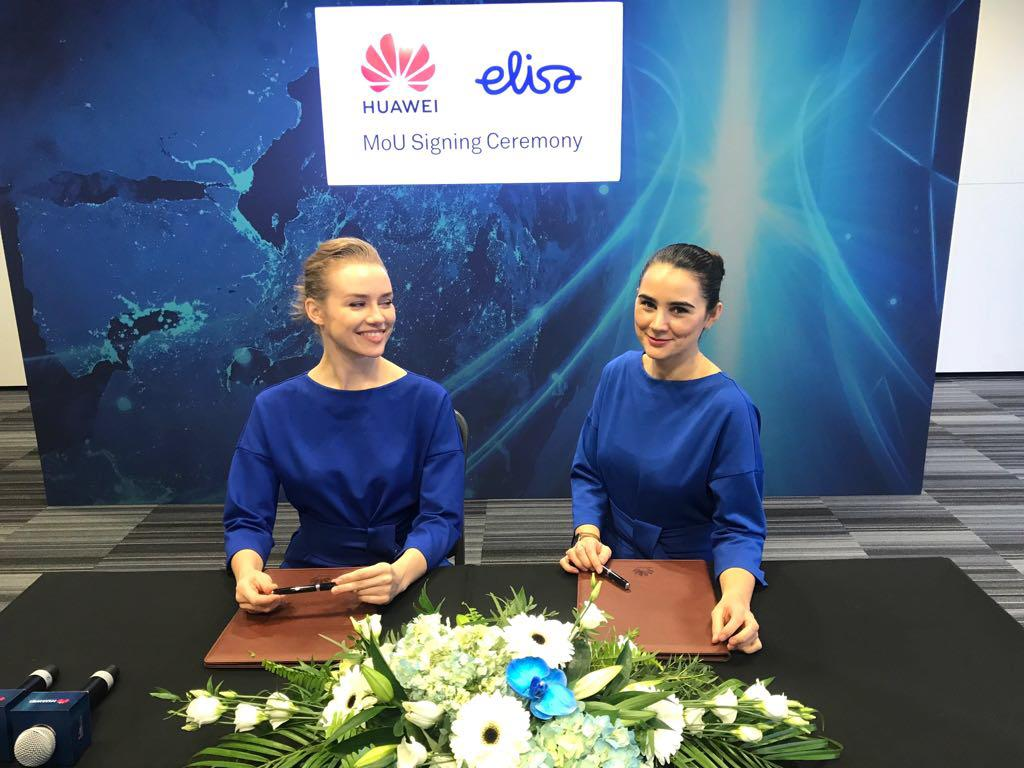Conference Hostess Agency for Huawei at ExCel London from Exhibition Girls