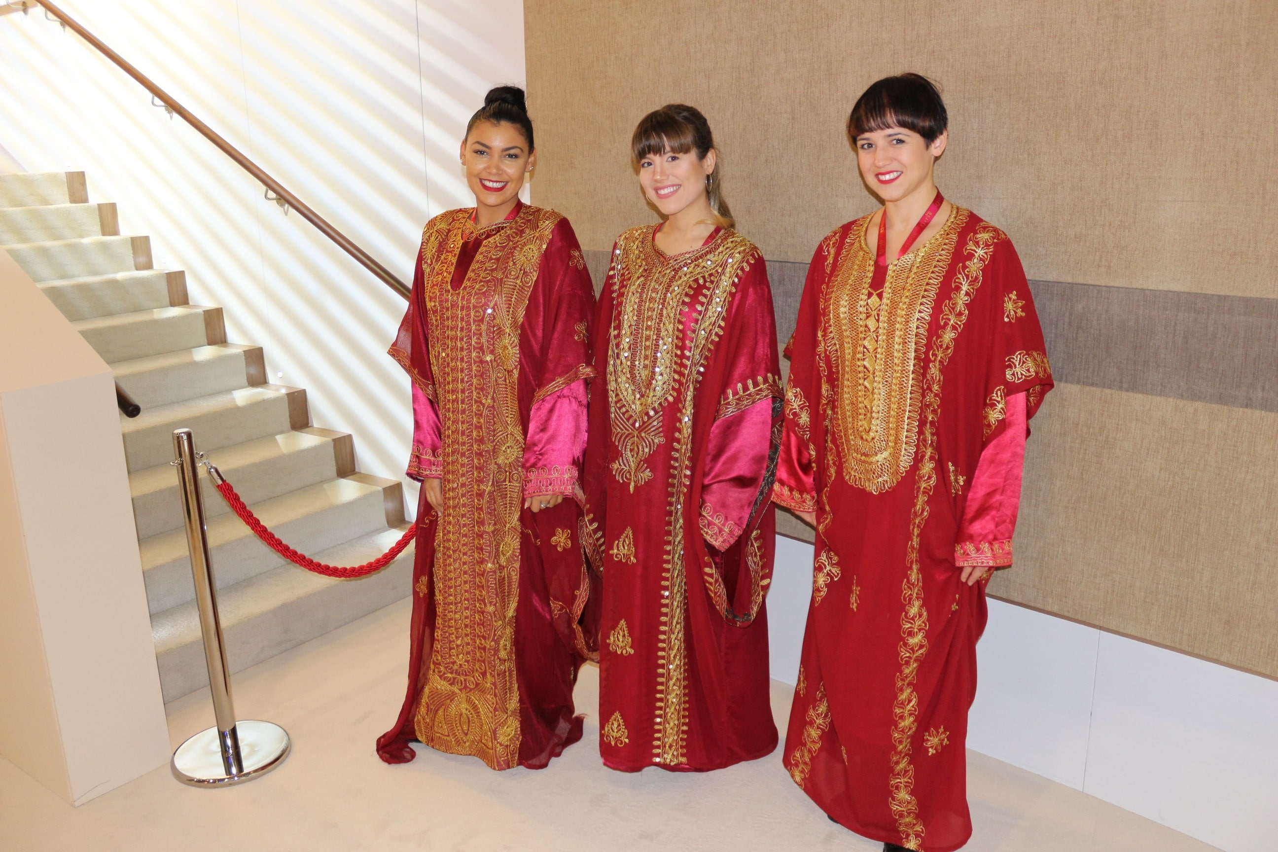 Promo Girls at ExCel London World Travel Market-min