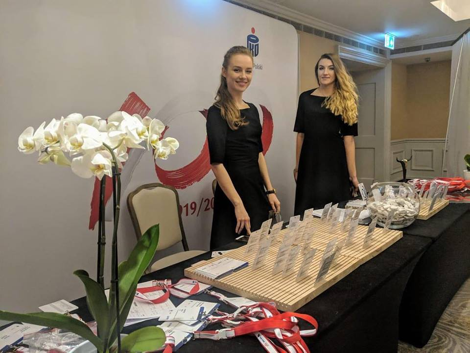 Event Hostesses for Bank of Poland