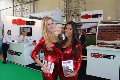 Promotion Girls at the Amsterdam RAI