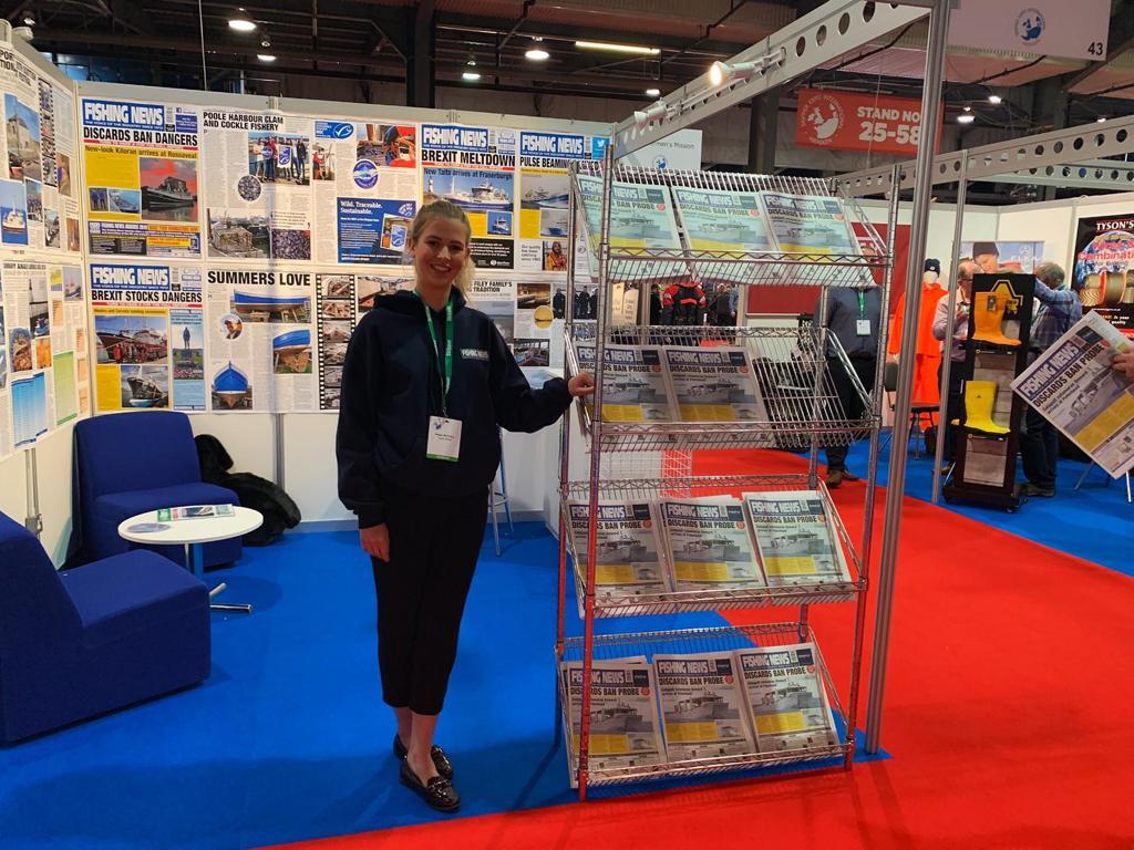 Exhibition Stand Builders Aberdeen : Exhibition staff for skipper expo at aberdeen exhibition